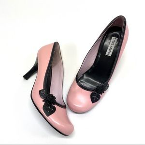 Steve Madden Groom Pink Round Toe Heels Pumps 9